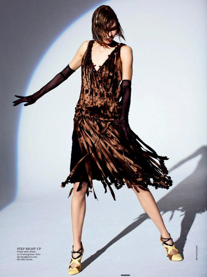 Gatsby Style Karlie Kloss By Arthur Elgort For Vogue