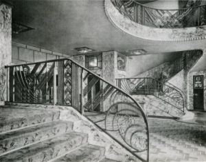 Art Deco staircase - black and white photos.jpg