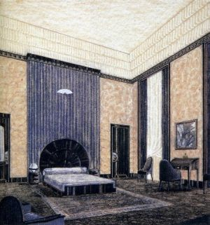 Inspiration for Gatsby set design - bedroom drawing.jpg