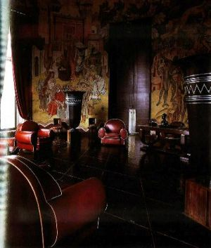 Inspiration for The Great Gatsby 2013 film - map room.jpg