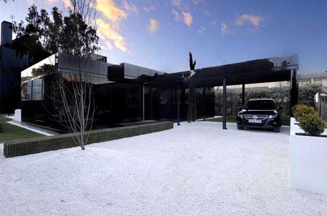 Luxury House And Car stylish home: luxury garage design
