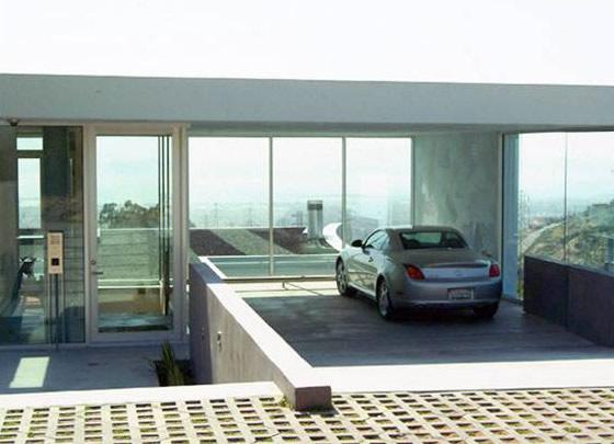 Stylish home luxury garage design for Modern house with garage