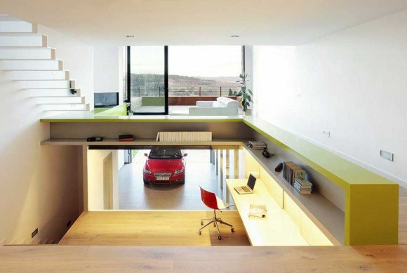 ... How To Design A Garage   Photos   Glamour Modern Car Garage  ...