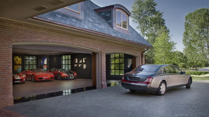 stylish home luxury garage design