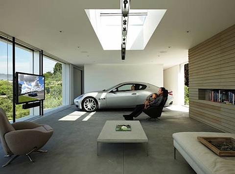 ... Luxury Garage   Mylusciouslife Luxury House Design Ideas   Custom  Garages ...