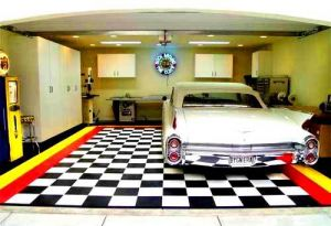 luxury home garage - store your beautiful cars in style - New-Car-Garage-with-floor-Design.jpg