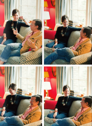 Kate Spade and Andy Spade in their Manhattan home.PNG