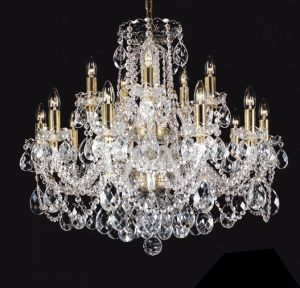 Luscious textiles glass lucite and crystal bohemian glass crystal chandelierg aloadofball Choice Image