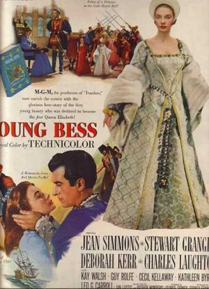 Films about royalty - Young Bess 1953.jpg