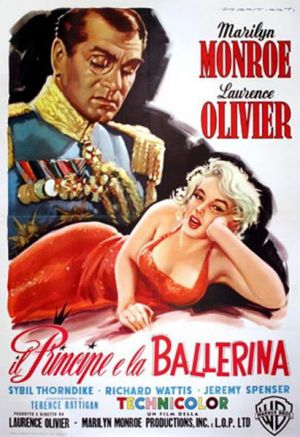 Movies about royals - The Prince and the Showgirl 1957.jpg