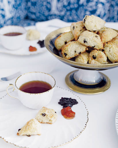 ... food.jpg At home with Tory Burch in Manhattan - luscious scones.jpg ...