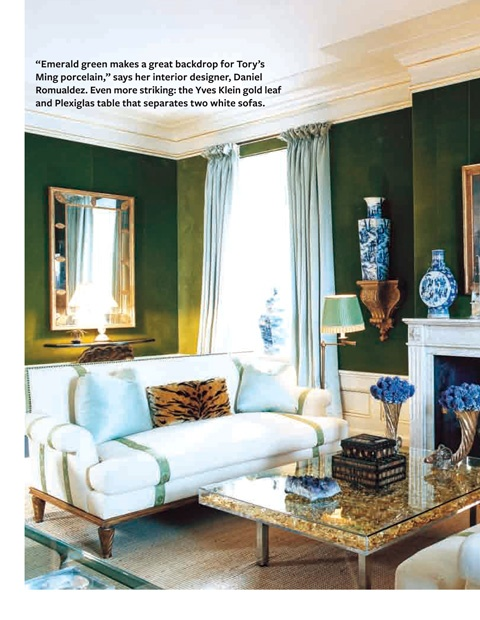 Famous Folk At Home Tory Burch In Her Manhattan Apartment