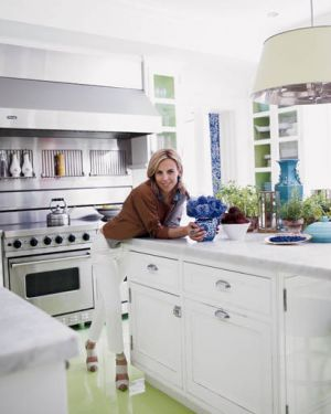 At home with Tory Burch in Manhattan - kitchen.jpg