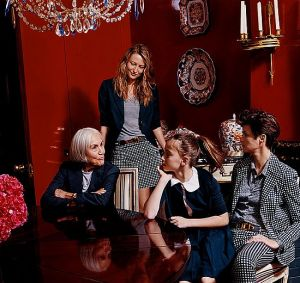 Tory Burch and photographer Tina Barney photoshoot in Torys apartment.jpg