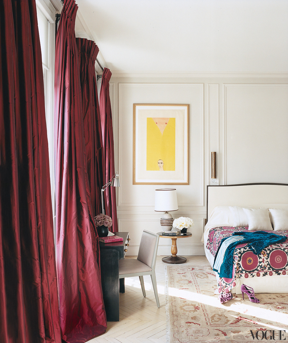Famous folk at home l wren scott and mick jagger in paris for L bedroom apartments