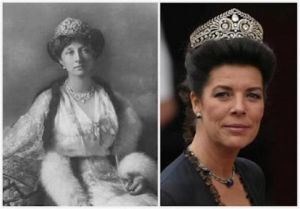 Crown and tiaras - Princess Caroline of Monaco - Brunswick tiara.jpg