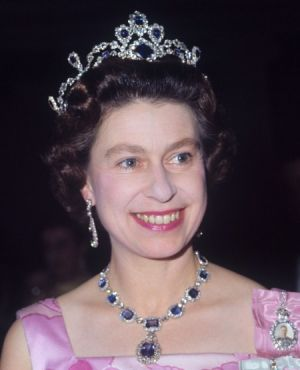 Crowns for a queen - Queen Elizabeth of Britain 1969.jpg
