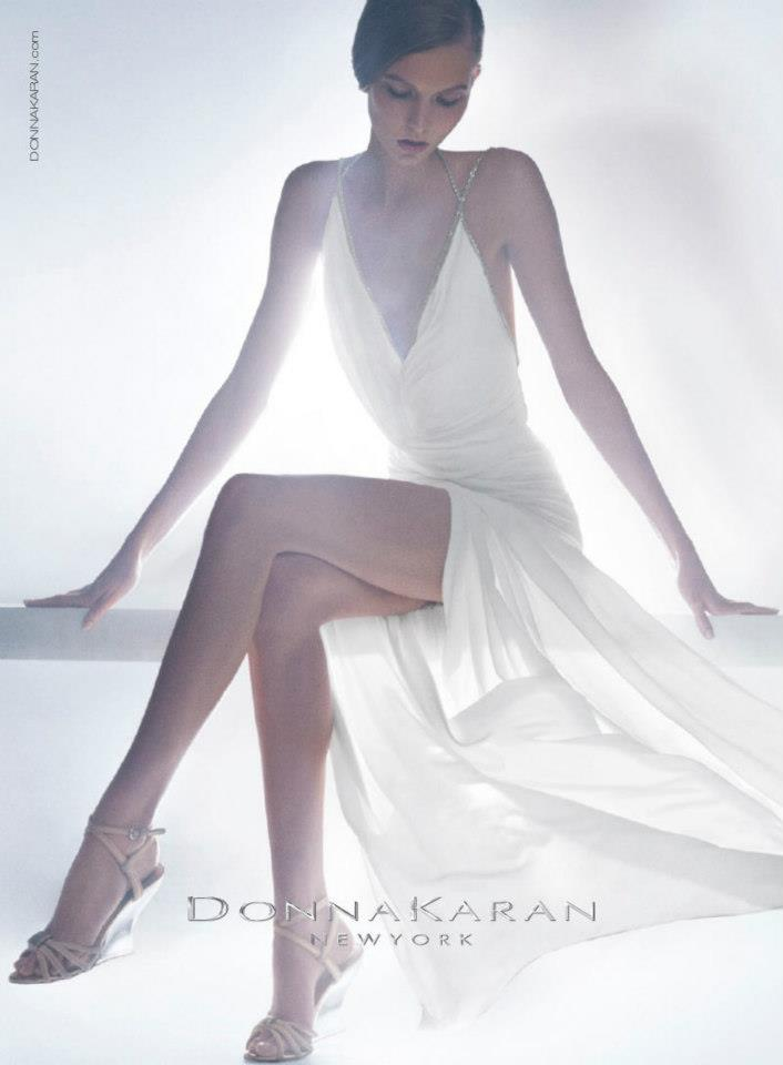 Fashion Karlie Kloss For Donna Karan Resort 2012 Campaign