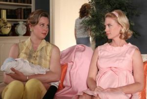 Maternity clothing archive - betty-mad men - pink.jpg
