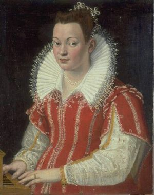 Renaissance and Elizabethan maternity clothing - Portrait_of_Bianca_Capello.jpg