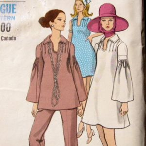 Stylish pregnancy clothes - patterns from the 1960s and 1970s.jpg