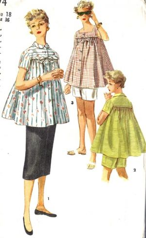 Vintage maternity clothing - Maternity in the 1950s - 1950 pregnancy style.jpg