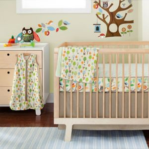 SKIP HOP COMPLETE SHEET BUMPER-FREE CRIB BEDDING SET TREETOP FRIENDS.jpg