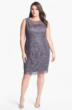 Curve appeal: Plus size cocktail and evening dresses