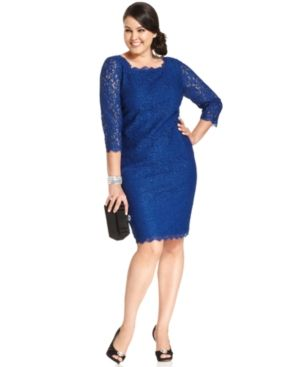 plus size dresses with sleeves - kapres molene