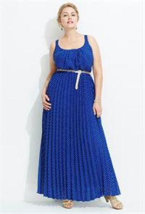 Plus size models - Avenue Plus Size Polka Dot Maxi Dress.jpg