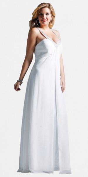 White Plus Size Ivory Evening Dresses by Faviana.jpg