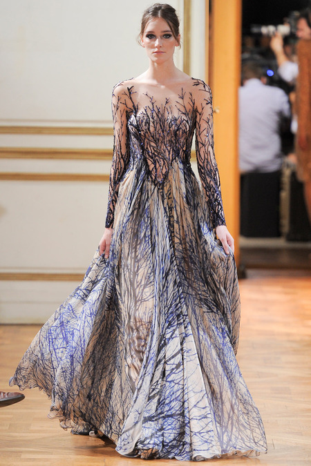 runway zuhair murad fall 2013 haute couture collection
