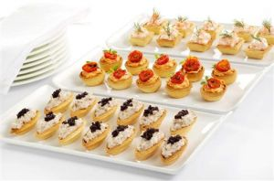 A luscious childhood baby shower ideas for How to make canape shells