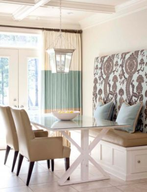 Fashion and decor inspired by mother of pearl - dining space creams and pastels.jpg