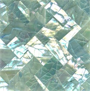 Inspired by mother of pearl colours - Abalone Weave Crackle Seashell TIle.jpg