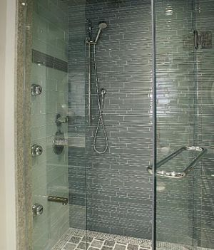 ... Inspired By Mother Of Pearl Colours   Design Inc Grey Bathroom ...