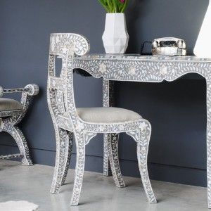 Interior design inspired by mother of pearl hues grey-mother-of-pearl-inlay-regency-chair.jpg