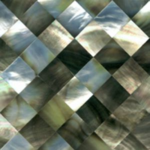 What is mother of pearl - Black Mother of Pearl Diag Sq Seashell Tile.jpg