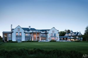 Louise and Vince Camuto Hamptons house Villa Maria