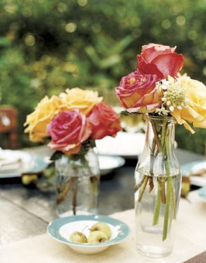 Countryliving.com - Personal touches such as beautiful bouquets on a table.jpg