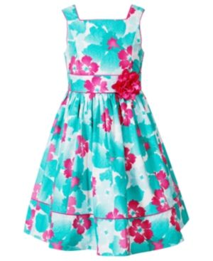 Floral decor fashion - Sweet Heart Rose Girls Dress - Girls Plus Size Floral Dress.jpg