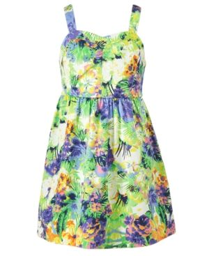 Floral designers - Jessica Simpson Girls Dress Girls Printed Floral Dress.jpg