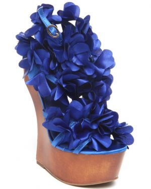 Floral wall paper decor fashion design - Fashion Lab Women Zadie Floral Heel Shoe Blue.jpg