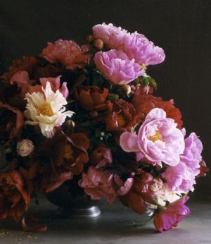 Martha Stewart - Spring Centerpieces - Pink and Red Peonies.jpg