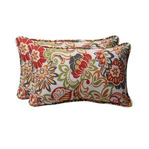 Pillow Perfect Decorative Multicolored Floral Rectangular Toss.jpg
