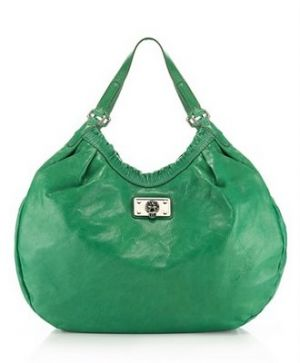 Emerald green clothes shoes accessories - myLusciousLife.com - Marc by Marc Jacobs Picnic Tobo Bag.jpg