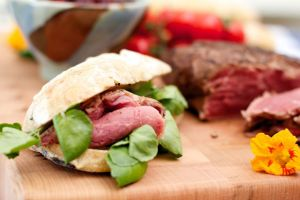Picnic ideas recipes - Roast beef and watercress rolls.jpg