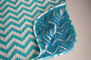 Sewing_Chevron Chenille Blanket_turquoise and white pattern.jpg