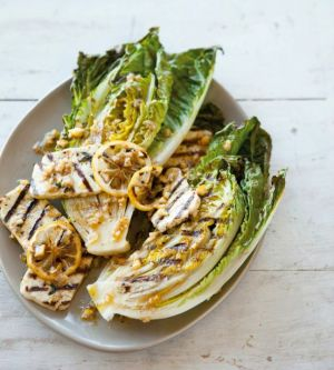Grilled Halloumi and Little Gem Salad with Preserved-Lemon Dressing from Williams-Sonoma.jpg