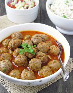 Photos of delicious food - Keeme Ke Kofte-Mutton Meatballs Curry.jpg